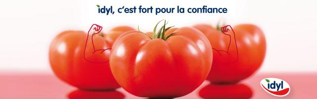 tomates Idyl c'est fort pour la confiance