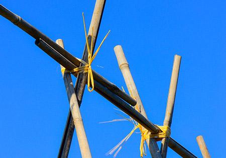 Tuteur bamboo